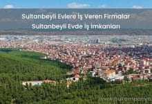 Sultanbeyli Evlere İş Veren Firmalar