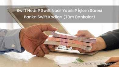 Banka Swift Kodları Tüm Bankalar [Güncel]
