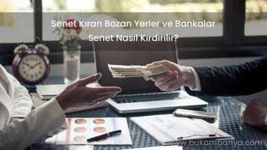Senet Kıran Bozan Yerler ve Bankalar