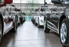 2. El Kredili Araba Kampanyaları