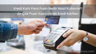 Kredi Kartı Para Puan Nedir, Nerelerde Nasıl Kullanılır?