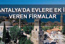 Antalya Evde Ek İş İlanları Evlere Ek İş Veren Firmalar