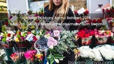 Çiçekçi Dükkanı Açmak Maliyeti Gerekli Malzemeler 2019