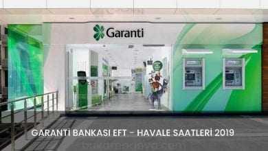Garanti Bankası EFT Saatleri EFT Ücreti 2019