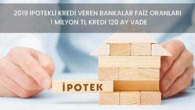 120 Ay Vadeli İpotekli İhtiyaç Kredisi Veren Bankalar