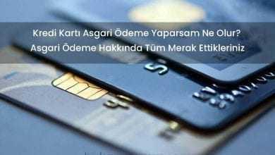 Kredi Kartının Asgarisini Ödemek Kredi Notunu Düşürür Mü?