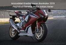 Motosiklet Kredisi Veren Bankalar 2019 Peşinatsız Senetle Motor
