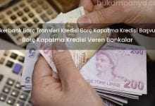 Şekerbank Borç Transferi Kredisi Borç Kapatma Kredisi Başvuru