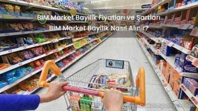 2019 BİM Market Bayilik Fiyatları ve Şartları