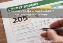 Findeks Kredi Notum Kaç Olursa Kredi Çekebilirim?