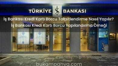 İş Bankası Kredi Kartı Borcu Taksitlendirme Nasıl Yapılır?