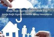 İsteğe Bağlı Sigorta Emeklilik Primi Şartları Maaşı Hesaplama
