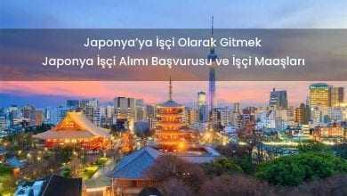 Japonya Göçmen İşçi Alımı Başvurusu Formu İşçi Maaşları 2019