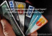 Kredi Kartı Bloke Kaldırma İşlemi Nasıl Yapılır?