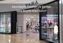 2019 Zara Bayilik Fiyatları ve Şartları