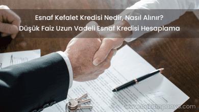 Esnaf Kefalet Kredisi Nasıl Alınır 2019 [Şartlar ve Hesaplama]