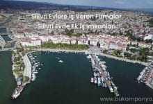 Silivri'de Evlere İş Veren Firmalar