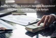 Borç Para Verenler Borç Para İlanları (ACİL PARA YARDIMI)
